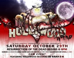 Event Flyer - The Hollywood Undead by CauseThought