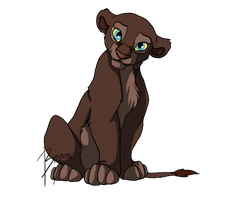 Melody as cub by BeeStarART