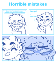 Horrible mistakes by SmokyJack