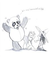 Sexual harassment panda... by TamarinFrog