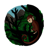 :: Redbubble design:: year of the monkey by pklcha