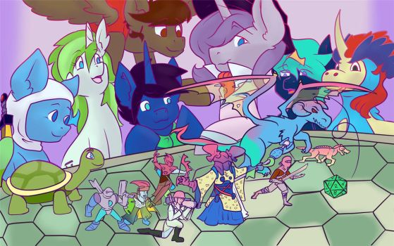Dungeons and Discord by mangaJag