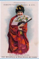 Victorian Advertising - Kimono by Yesterdays-Paper
