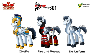 Pegasi Fire and Rescue: Blade Ranger by Aileen-Rose