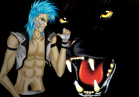 Grimmjow's New Design by R-Blackout