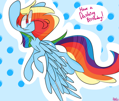 Maddie's Birthday Card by Mister-Maniac