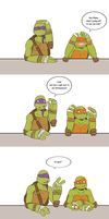 TMNT - Like white on rice by Anime-Grimmy
