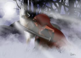 Little red Riding hood by Diddha