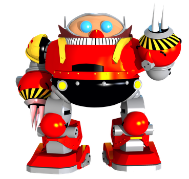 [Sonic Mania] Death Egg Robot by AustinTheBear