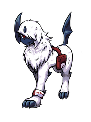 Absol by Ginsora