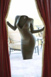 Dress in the curtains by closetdreams