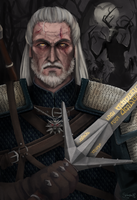 The Witcher - White Wolf by SeikoVanM