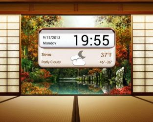Wooden Letterbox for xwidget by Jimking