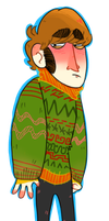 Fluffy Christmas Sweater by KabouterPollewop