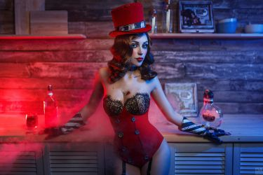 Mad Moxxi Red Light 8 by DariaRooz