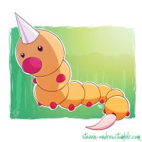 013 - Weedle by steven-andrew