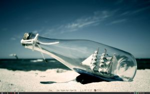 Ship in a bottle... by rephl