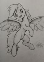 Derpy Sketch by Pajaga