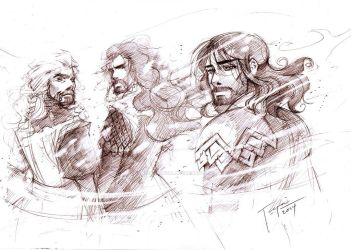 Durin's Bloodline by tepaipascual