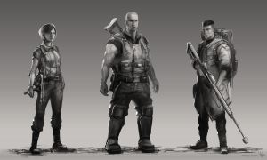 triple point - characters by Yip-Lee
