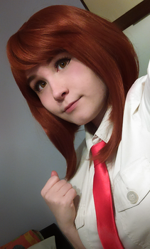 Ochako Uraraka (costest) by joannawentbananas