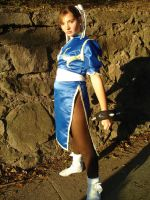 Chun Li Cosplay by dollphinwing