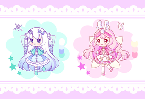 OPEN [Adopts] Changed to REDUCED SET PRICE! by Kawaii-Says-Meow