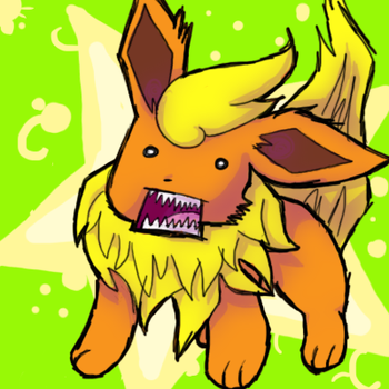FLAREON will eat YOU by Flary23