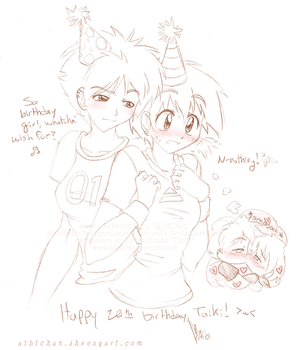 Gift - 'Happy 20th, Taiki' by Beedalee-Art