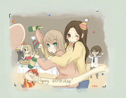 Happy birthday :D by cheese-drop