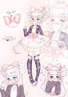 (CLOSED) Harajuku Pombon Auction!! by CritterPunk