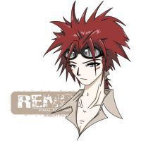 reno from ff7 by kapao