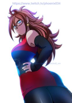 Android 21 by oume12