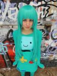 Adventure Time Cosplay - BMO by problematiiques