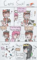 MCSM : Cats Suck!! by TheMaroonLightning