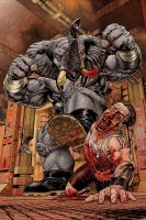 Elephantmen Cover by westonfront