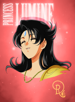 Faces of Lumine - 1st - DR Commission by LordNagashFear