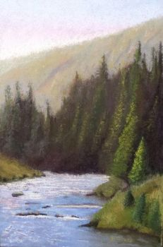 Granite Creek, Wyoming (finished) by virtuosoale