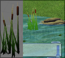 3D Tall Grass by RakshaWw