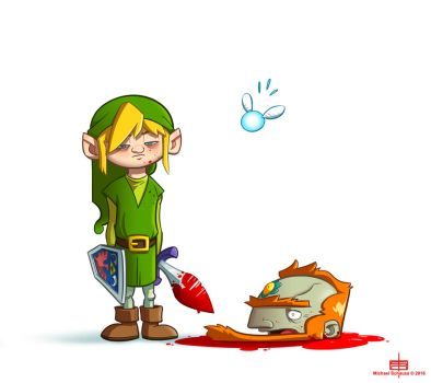 Legend of Zelda by MichaelSchauss