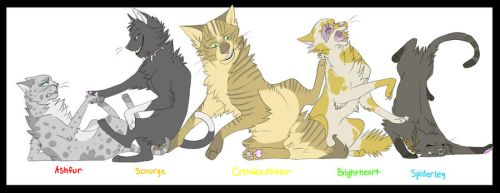 Warrior Cats: Cha Cha Slide by DoctorCritical