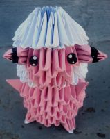 #180 Flaaffy - 3D origami