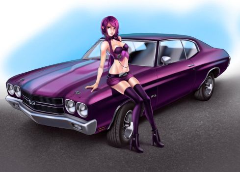 Car commision by titi-artwork