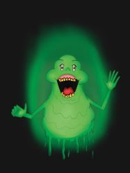 Slimer - GhostBusters by WikiJoe