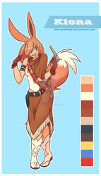 Kiona Reference by Chronnellian