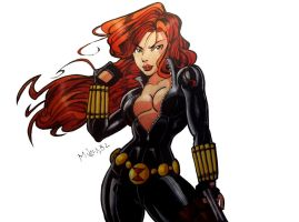 Black Widow by MikeES