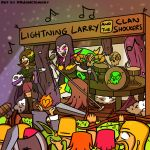 Lightning Larry and the Clan Shockers #2 by Adam-Clowery