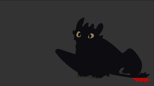 Toothless by dragonitearmy