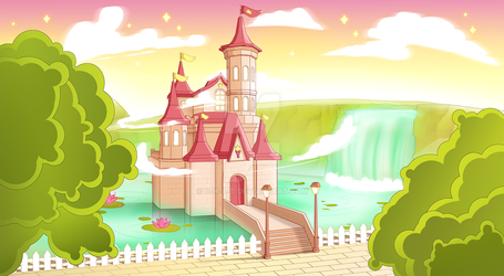 Yoona's Castle (Commission) by C-H-A-T