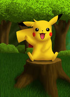 Pikachu Sparky by Hovel